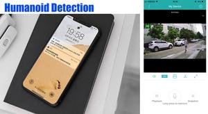 Image 2 - USAFEQLO nagrywanie dźwięku HD 1080P Wifi kamera IP P2P 1080P CCTV nadzór bezpieczeństwa z Micro SD/gniazdo karty TF iCsee wodoodporna
