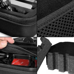 Image 2 - Andoer Portable Action Camera Case Protective Case for GoPro Hero Sport Camera Accessory Anti shock Storage Bag