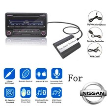 Mp3-Adapter Infiniti Fx Bluetooth Teana Nissan Music-Charger Almera DOXINGYE for Maxima