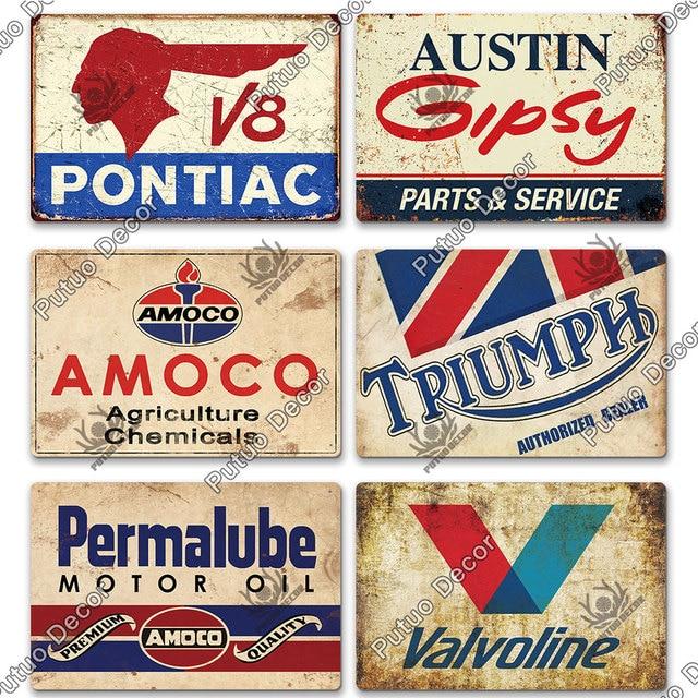 Oil Brand Plates 8