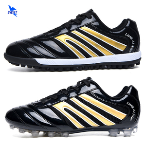 32 43 Indoor Turf Soccer Shoes Men Boys TF/AG Football Boots Hard Court/Lawn FG Futsal Cleats Teens Kids Training Sport Sneakers|Soccer Shoes| |  -