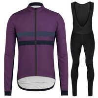 RUNCHITA clothes bicicleta jersey invierno 2019 térmico polar ciclismo jersey manga larga conjunto hombres MTB mallot ciclismo kit