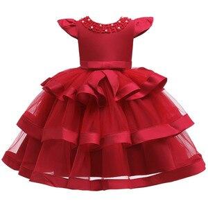 Image 4 - 夏の子供のドレス子供刺繍レースのため 2 3 4 5 6 7 8 9 10 歳の誕生日パーティードレス