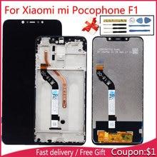 Хороший ЖК-дисплей для Xiaomi Pocophone Ф1 / Poco с сенсорным датчиком полная сборка