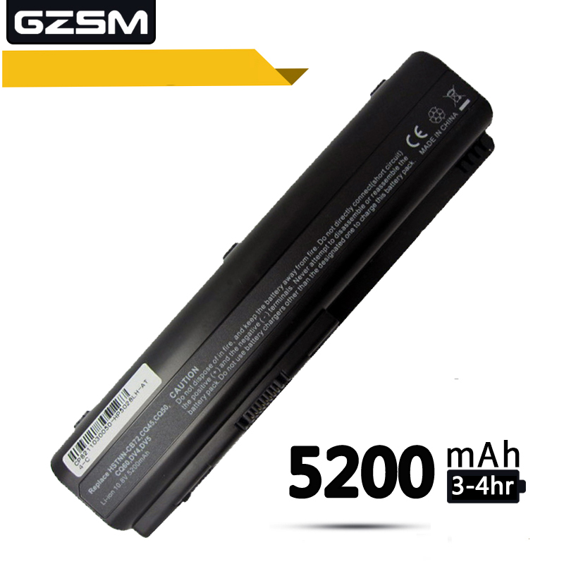 GZSM Laptop Battery DV4 For HP CQ50 CQ71 CQ70 CQ61 Battery For Laptop CQ60 CQ45 CQ41 CQ40 DV5 DV6 DV6T G50 G61 KS524AA Battery