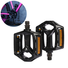 New 1 Pair Aluminum Aalloy Bicycle Pedal Anti-slip CNC MTB Mountain Bike Sealed Bearing Pedals Accessories