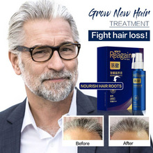 Hair Growth Serum Anti Hair Loss Treatment Essence for Hair Growth Essential Oils Dense Hair Thickner Hair Care Prevent Baldness 6 bottle 600pcs prevent and cure hair loss fo ti root supplement for gray hair promote hair growth hair early white he shou wu