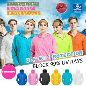 Coat Hooded-Jackets Windbreaker Oversized Chaqueta-Tops Ultra-Light Men Casual Women