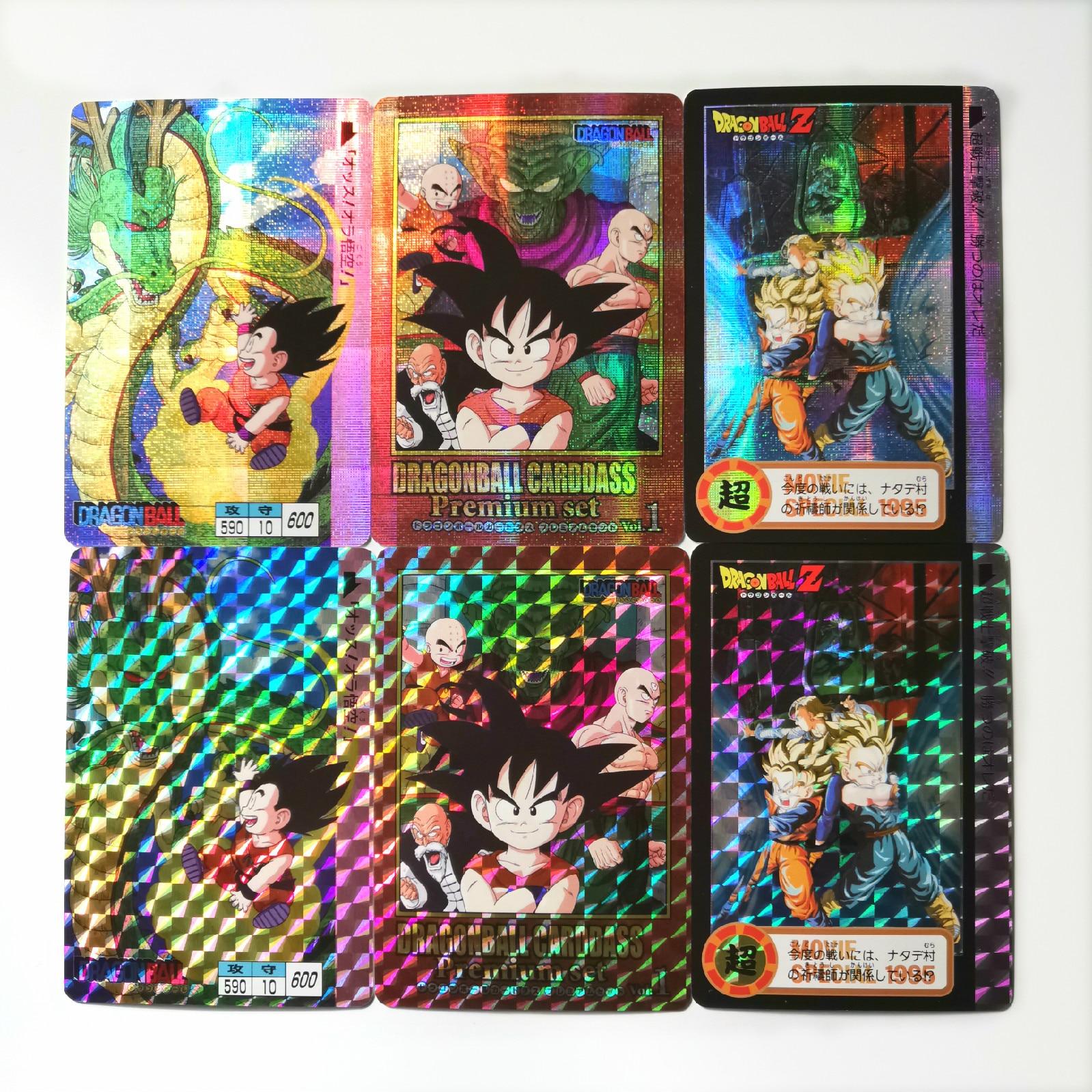 Copy Commemorate Super Dragon Ball Z Heroes Battle Card Ultra Instinct Goku Vegeta Game Collection Cards