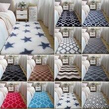 Пушистое супермягкое одеяло, противоскользящие декоративные коврики для дивана, двери, дома