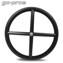 Bicycle Wheelset Clincher Four-Spoke-Wheel Carbon Go-Proe High-Performance