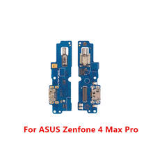 USB Charging Port Connector Board Parts Flex Cable With Microphone Mic For ASUS Zenfone 4 Max Pro X001D ZC554KL