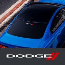 Estilo do carro corpo tronco janela lateral decalques da porta adesivo para dodge challenger carregador avenger calibre nitro acessórios