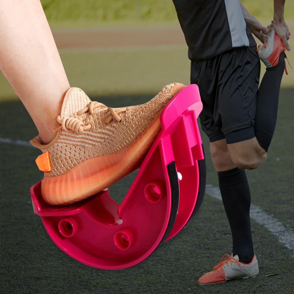 Ножная рокер голеностопная растягивающаяся доска для фиксатор для ног мышечная Растяжка приспособление для растяжки ног Йога фитнес-Спорт педаль массажа
