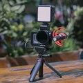Ulanzi GoPro8 металлическая Vlog клетка для Светодиодный микрофон двойной Холодный башмак адаптер крепление 52 мм фильтр адаптер для Gopro Hero 8 черная ...