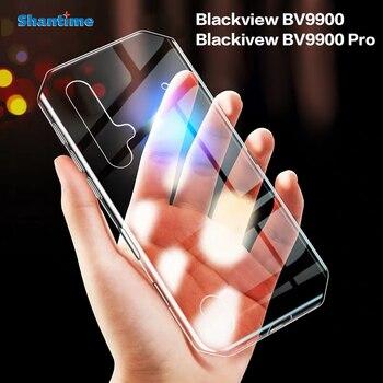 Перейти на Алиэкспресс и купить Для Blackview BV9900 чехол Ультратонкий Прозрачный мягкий чехол из ТПУ чехол для Blackview BV9900 Pro Couqe Funda