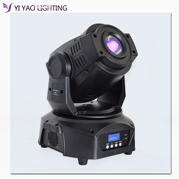цена на High Brightness 90W Spot moving head light led GOBO stage lighting disco light 90W gobo with 3 face prism moving heads
