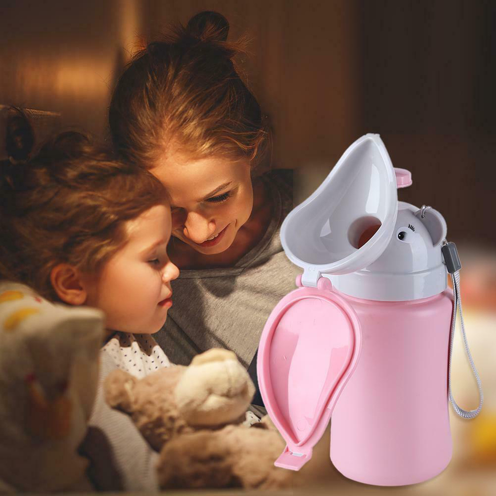 Kids Portable Urinal Toilet Potty Training Baby Boy Girl Car Travel Supply 500ML