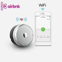 Wifi Smart Lock Cylinder Fingerprint WIFI Gateway Smart Lock Body Phone Control Door sensor Keyless Lock Core For Smart Home