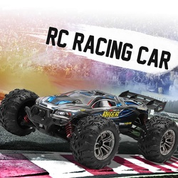 Xinlehong 9136 1:16 2.4G 4WD 32cm Rc Racing Cars 36km/h Bigfoot Off-road Truck Vehicle RTR Toy VS XINLEHONG 9125 Gifts Boy