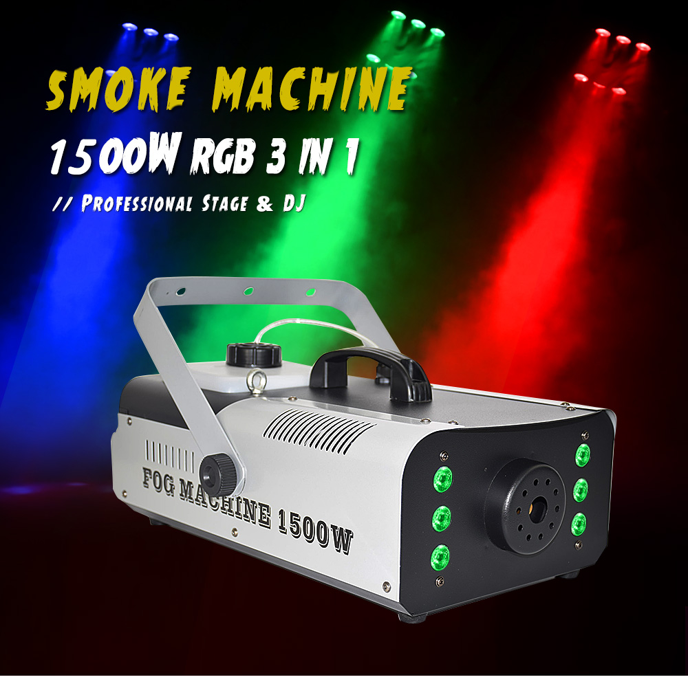 máquina de fumaça dj disco laser festa