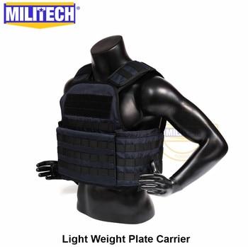 MILITECH Light Weight Vest Military Assault Tactical Plate Carrier Police Overt Wear Body Armor Plate Carrier 6
