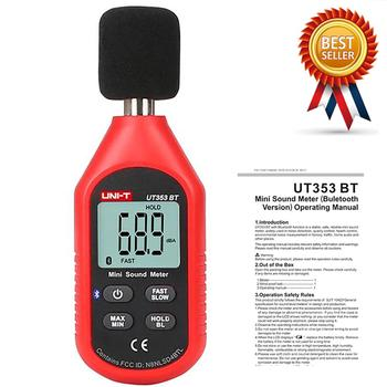 UNI-T UT353BT Sound Level Meter Digital Bluetooth Noise Meter Tester 30-130dB Decibel Monitoring Sound Level Meters. slm sound level meter support the pc connect and sd card freeshipping