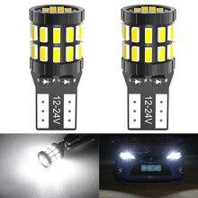 2x T10 LED 168 2825 Canbus Bulb for Toyota C-HR Corolla Rav4 Yaris Avensis Camry CHR Car Interior Light License Plate Trunk Lamp
