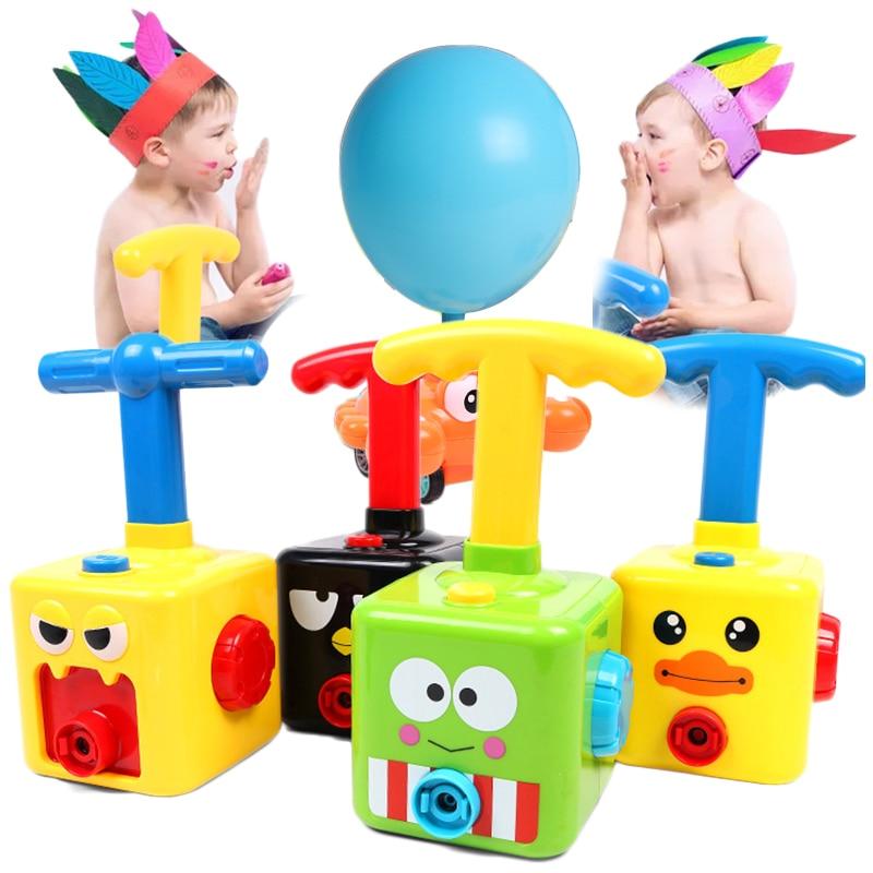 Новый Мощность для запуска зондов башня Игрушка Головоломка удовольствие от образования инерции воздуха Мощность шар автомобиль игрушка д...