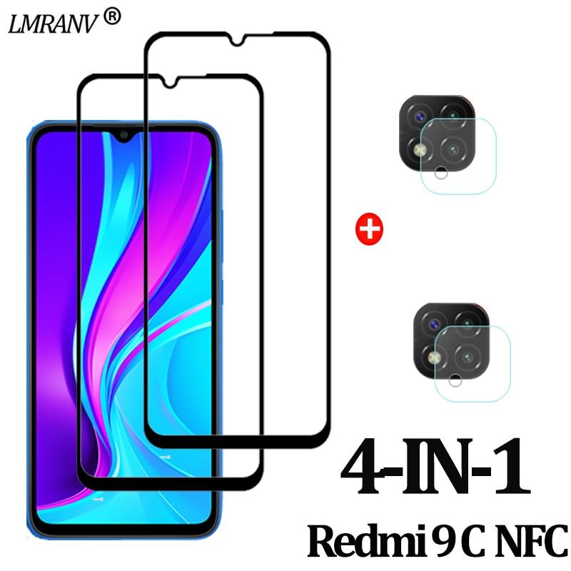 Redmi-9C-NFC Защитное стекло для камеры Redmi 9 C NFC защитеое стекло 9A 9C Redmi Защитная пленка для экрана Xiaomi 9C редми 9с нфс 9а редми 9 с nfs
