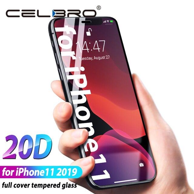 Điện thoại Kính Cho Iphone 11 Pro Max 2019 Màn Hình Kính Cường Lực Full Cover Viền Kính Cho Iphone 11pro Xi Iphone11 tấm Kính bảo vệ
