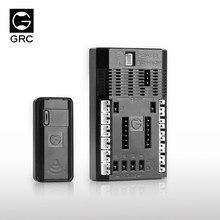 Grc Rc Car Upgrade Draadloze Linkage Light Control Voor 1/10 Rc Klimmen Drift Truck Auto Axiale SCX10 90046 Traxxas TRX4 d110 4wd