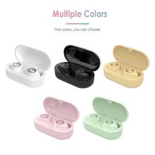 New TW60 Bluetooth Earphone Wireless Headphones Touch Headph
