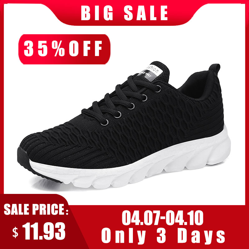 2019 Mesh Women Sneakers Breathable Women Flat Shoes Lightweight Casual Shoes Ladies Lace-up Deportivas Mujer Chaussures Femme 3