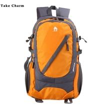 Casual Nylon Men's Sports Backpacks Multi-function light Youth Travel Backpack Lady Laptop Backpack Student School Bag Blue Male