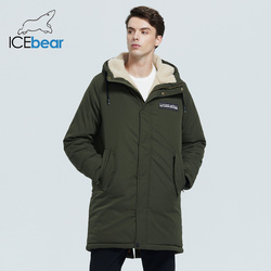 ICEbear 2020 Новая мужская зимняя куртка стильные шорты пальто ветрозащитный и теплый мужской бренд одежды MWC20887D
