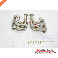 MTP RACING Stainless Steel Race Headers 997 997.2 3.6L 3.8L PDK Carrera 2009 2013 Exhaust Turbo Manifold