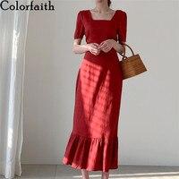 Платье с воланом и квадратным вырезом Цена 1345 руб. ($17.09) | 140 заказов Посмотреть