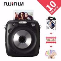 New Arrival 100% Genuine Fujifilm Instax SQUARE SQ10 Hybrid Instant Fim Photo Camera Black Color