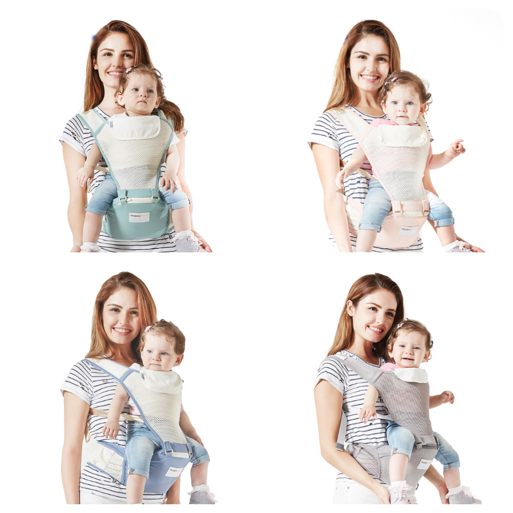 Ergonomic Baby Carrier Breathable Infant Kid Baby Hipseat Sling Kangaroo Baby Wrap Carrier For Baby Travel  Thickening Shoulders