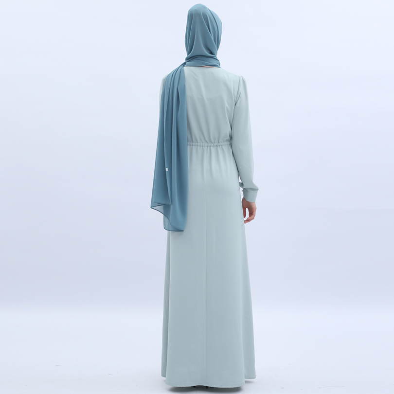 Vestido musulmán Ramadan Abaya ropa islámica mujer Malasia Jilbab Djellaba bata muselmane turco Baju encaje Kimono Kaftan túnica