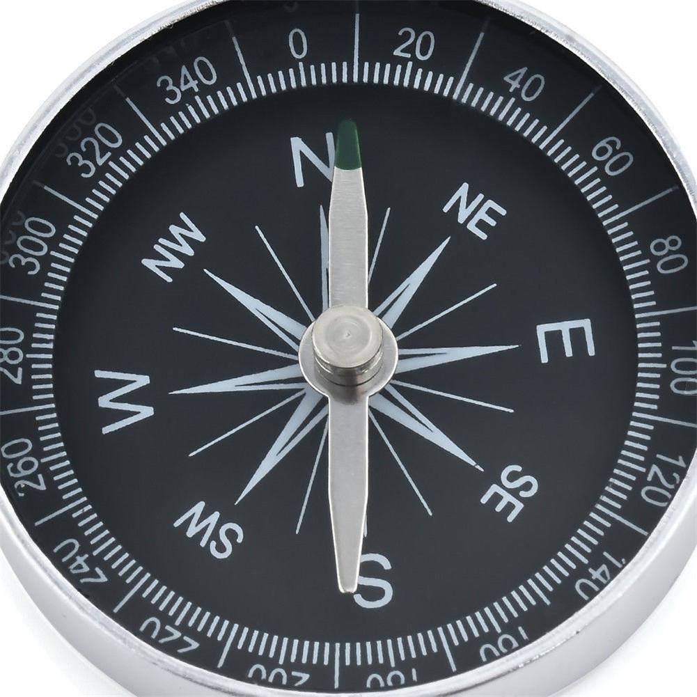 HiMISS компас инструмент Алюминиевый походный легкий дикий выживания профессиональный компас навигационный инструмент