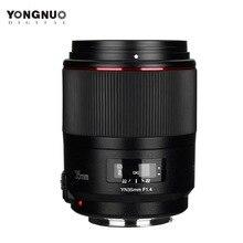 YONGNUO YN35MM F1.4 เลนส์มาตรฐานมุมกว้างเลนส์สำหรับCanon Bright Aperture Primeเลนส์กล้องDSLRสำหรับ 600D 60D 500D 400D 5D II