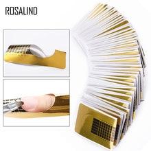 ROSALIND-ensemble d'ongles formes professionnelles, vernis Gel en acrylique, extensions, outil de manucure, 100 pièces/ensemble