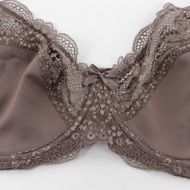 Beauwear Large Size Bras C D DD E cup for Women underwired Non-padded Bra Ladies Sexy Full Cup Underwear Plus Size Bra 33