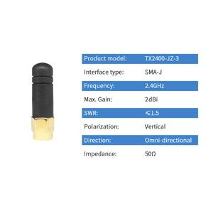 Image 3 - Mini antena WIFI de 2,4 GHz, 2 uds., antena Bluetooth de 2,4G, Wifi súper corta, Omni, antenas de Internet inalámbricas, SMA, TX2400 JZ 3 macho