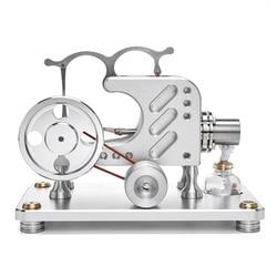 T16-03 баланс металлический цилиндр внешнее сгорание Модель двигателя Стирлинга развивающая игрушка