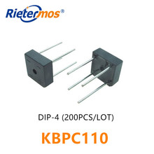 200 قطعة KBPC110 1000V DIP4 KBPC1005 KBPC101 KBPC102 KBPC104 KBPC106 KBPC108