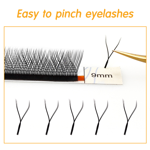 Y Lashes Cilia And Volume Brazilian Makeup False Eyelashes Supplies V Faux Mink Lashes Y Shape Eyelash Extension 3