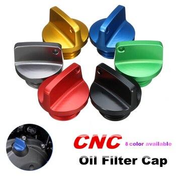 цена на Motorcycle Crankcase Cap CNC Engine Oil Filler Screw Cover Plug M20*2.5 For Yamaha MT09 FZ09 MT09Tracer FJ09 Tmax 500 T-max 530